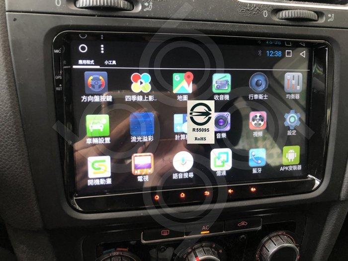 Volkswagen 福斯 GOLF-9吋福斯專用機.Android.觸控螢幕.usb.導航.網路電視.公司貨保固一年