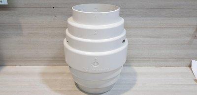 "DIY水電材料 防逆止風門4"" 活動彈簧風門自動密合 可有效防止煙味氣味回流浴室 適用浴室通風扇 換氣扇 可與排風管接合"