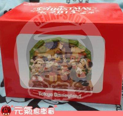 2013年 絕版 迪士尼 Disney 陶瓷波麗 聖誕節場景 米妮 米奇 米老鼠 唐老鴨 Merry Christmas