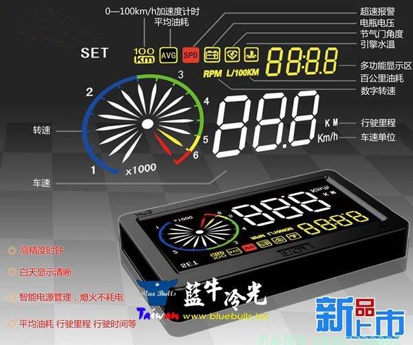 【藍牛冷光】EZ300 OBD HUD ELANTRA IX35 E39 E46 MPV WISH CAMRY RAV4