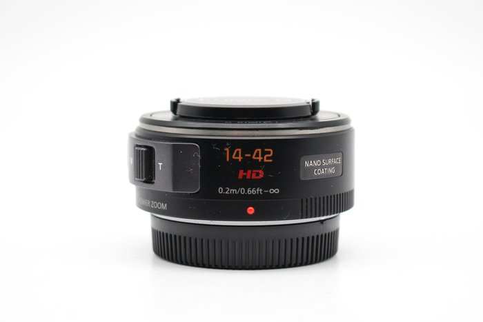 【高雄青蘋果】Panasonic LUMIX G 14-42mm f3.5-5.6 X鏡 二手鏡頭 #29727