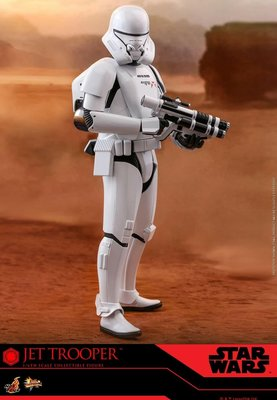 次日vip單 hottoys star wars  jet trooper mms561 巳付$500 尾數$742