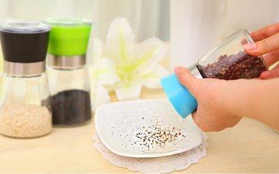 多色 胡椒罐 研磨器 創意廚房胡椒手動研磨器 花椒 調味瓶【神來也】