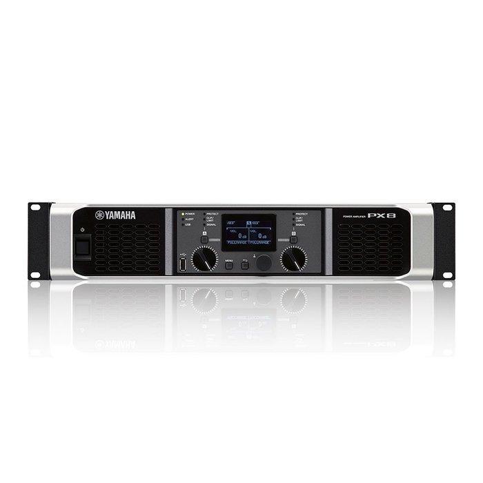 【六絃樂器】全新 Yamaha PX8 數位功率擴大器 / 舞台音響設備 專業PA器材