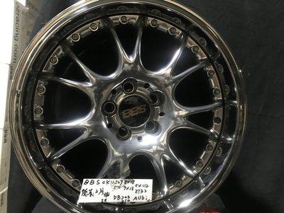 BBS 18吋鋁圈CK#509 8*18吋,5*112,ET32德製,2片鍛造