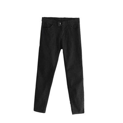 牛仔 褲 鉛筆 長褲-時尚經典彈力收腰女褲子2色73tq3[獨家進口][米蘭精品]