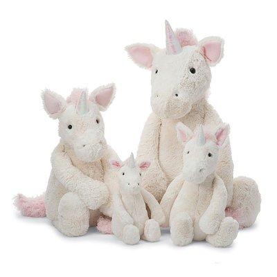 [英國Jellycat 團購] Jellycat 安撫玩偶Bashful Unicorn系列 18cm,獨角獸