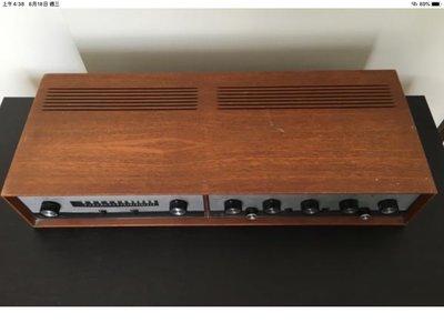 Leak 30晶體綜合擴大機+FM真空管收音機