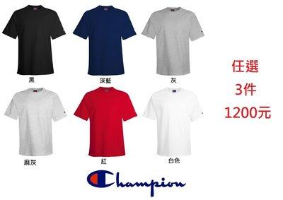 【FANCY】CHAMPION 冠軍 美國 素色 短T 素T 高磅 厚款 素TEE 短T 6色 S~3XL