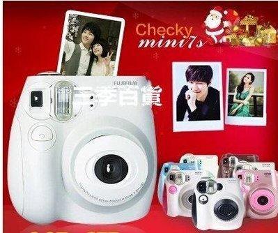 三季辣媽正傳 一次成像LOMO膠卷立拍得 富士拍立得mini7s相機相紙套餐❖777