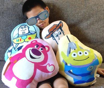 【卡漫迷】 玩具總動員 造形枕 四款選一 ㊣版 巴斯光年 午安枕 熊抱哥 抱枕 靠墊 Losto 靠枕 Buzz L1