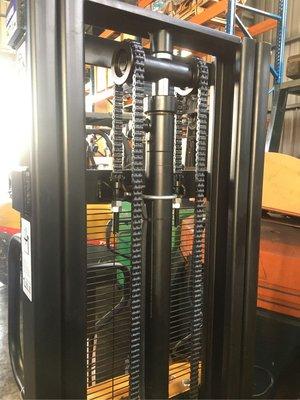全新半電動堆高機 自走式堆高機 油壓拖板車 電動拖板車