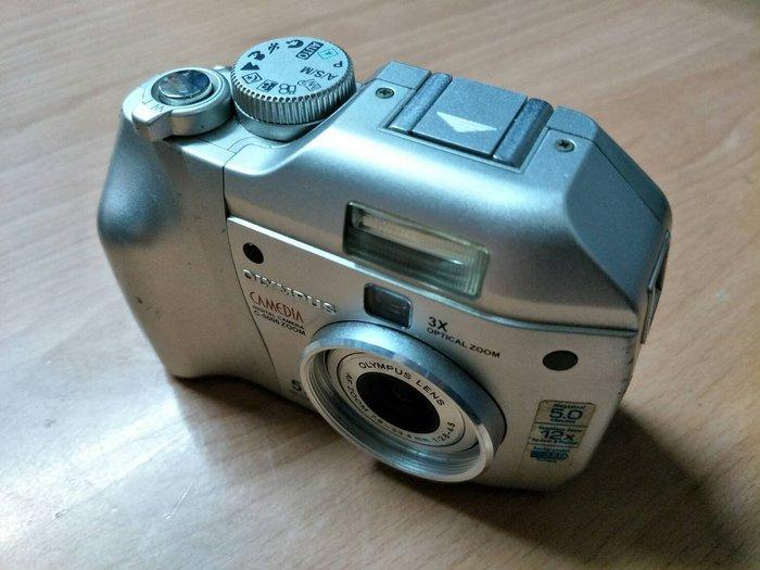 ☆手機寶藏點☆ Olympus 奧林柏士 C-5000 Zoom 數位相機 銀 功能正常 貨到付款 Che C6