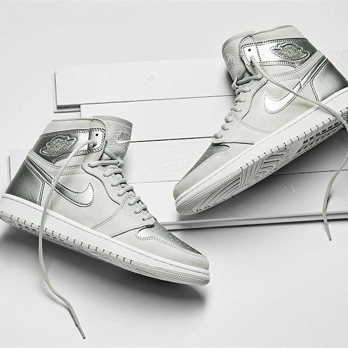 現貨-  Air Jordan 1 CO JP 灰银日本東京限定篮球鞋男DC1788-029