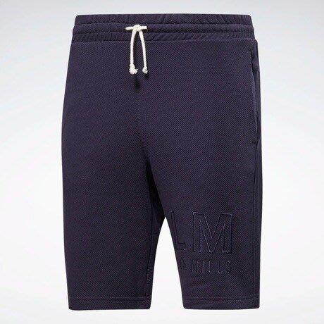 FOCA REEBOK LES MILLS® LM 萊美 短褲 運動 棉短褲 健身 短褲 運動短褲 紫色 FM7164