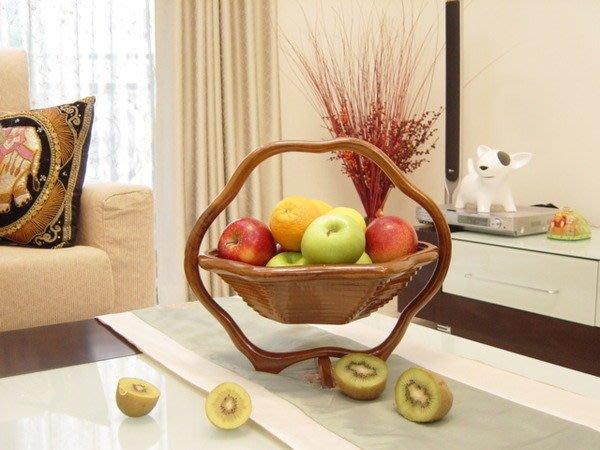 【永晴峇里島】巴里島全新的精美造型木製水果盤-水果盤9