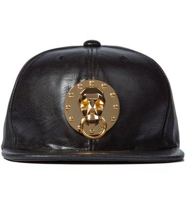 全新商品 AMBUSH Black Skull Medallion Snapback Cap 骷髏 金屬 棒球帽