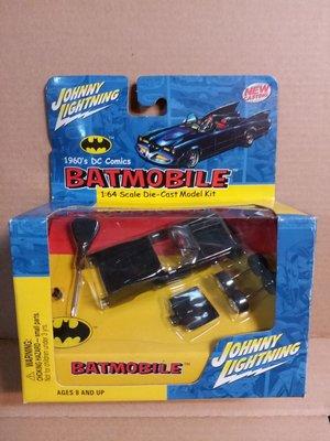 Johnny Lightning 1960's Batmobile 1/64 Die-cast Model 合金模型 - 絕版全新 (注意內文/交收地點及時間)