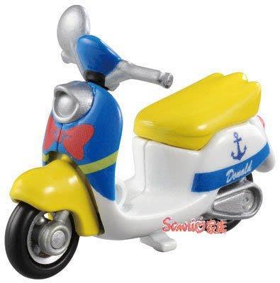 《東京家族》現貨日本Dream TOMICA 夢幻 小汽車 迪士尼 夢幻 唐老鴨 摩托車