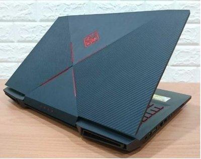 17吋電競筆電 HP 17-an033tx i7-7700hq 8GB GTX1050Ti 128SSD+1 TB