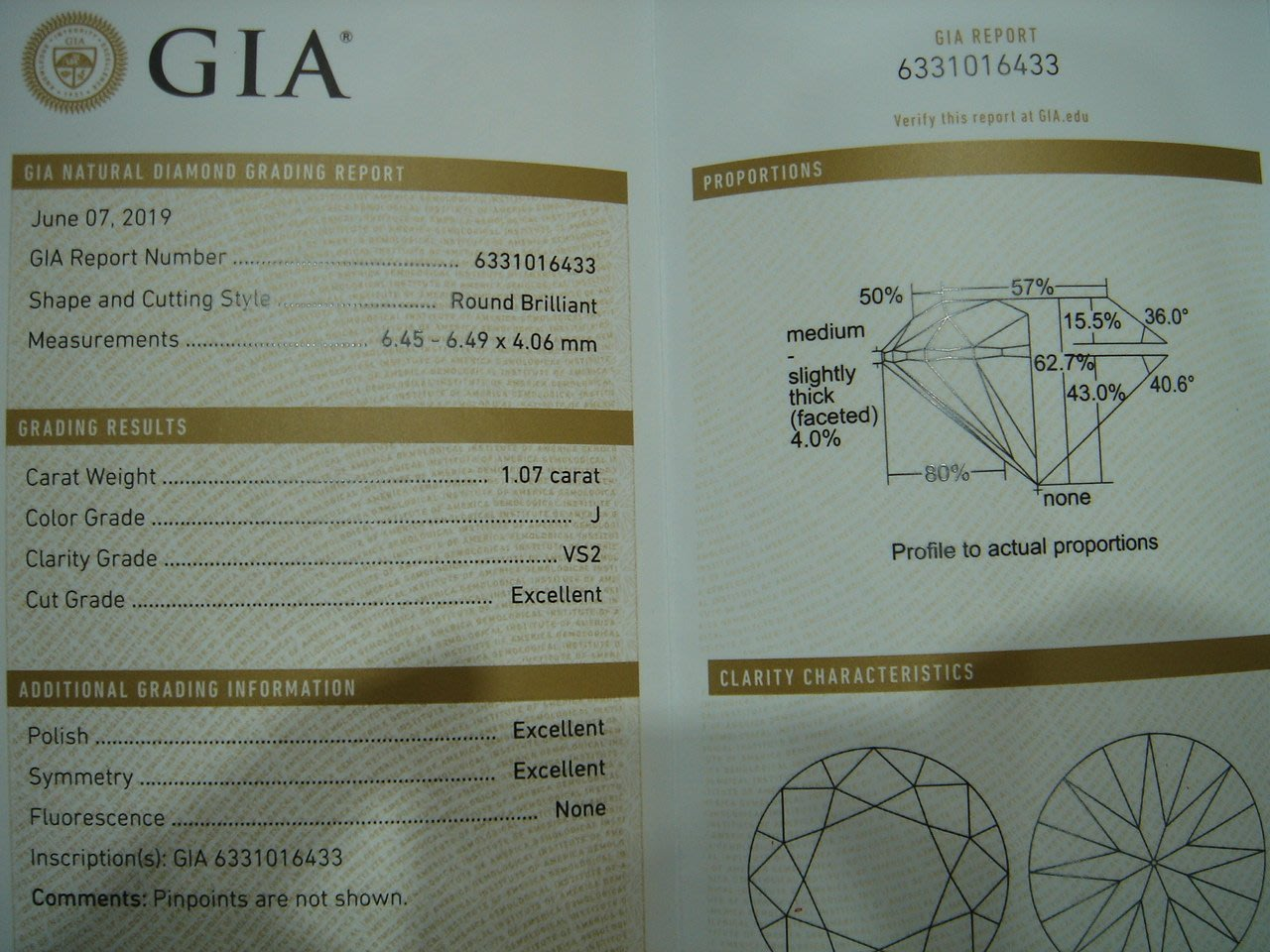【婚戒 求婚鑽戒 】一克拉 J VS2 GIA鑽石價錢GIA鑽石價錢GIA鑽石價錢GIA鑽石價錢GIA鑽石價錢