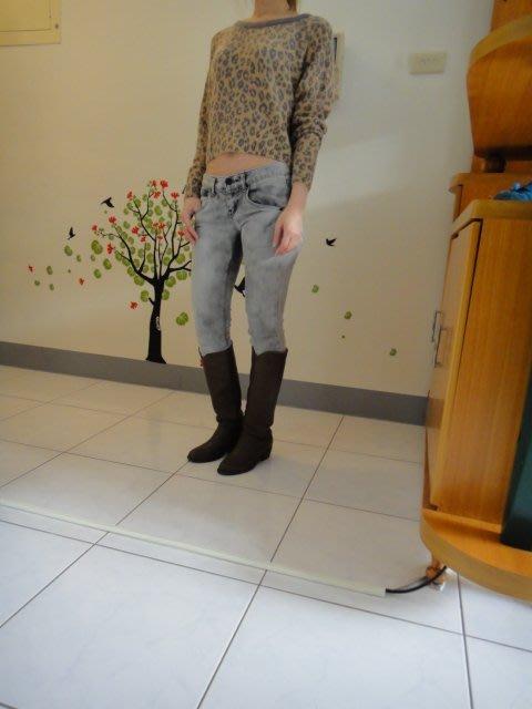 日本ATTENTION專櫃豹紋上衣                        低價1280