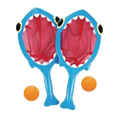 【晴晴百寶盒】美國進口鯊魚接球組 Melissa&Doug扮演角系列手眼協調生日禮物家家酒 益智遊戲玩具W684