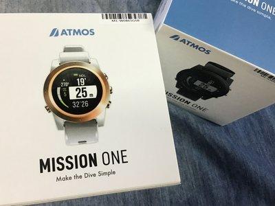 ATMOS MISSION ONE 潛水電腦錶(高氧潛水/水肺潛水/自由潛水)