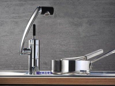 【歐築精品衛浴】DAMIXA《丹麥》✰ARC系列廚房龍頭29000-經典黑