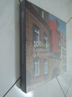 典藏乾坤&書---建築--100 great extensions & renovations  Q