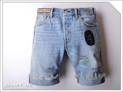 【Brand T】SALE LEVI'S LEVIS 501 34512-0038 CUTOFF DENIM 牛仔*短褲