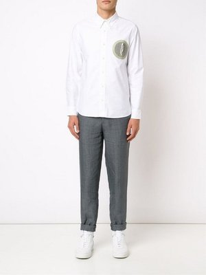 [ VINTAGE ] VISVIM JUNEAU WELD SHIR L/S ( GIZA OX ) 白色牛津襯衫