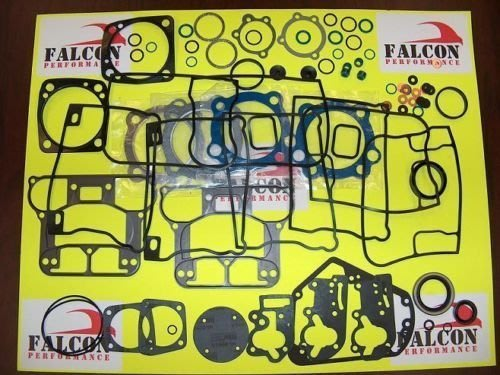 哈雷1984-1999引擎大修理包 Evo 1340 BIG BORE Upper/Top End Gasket Set