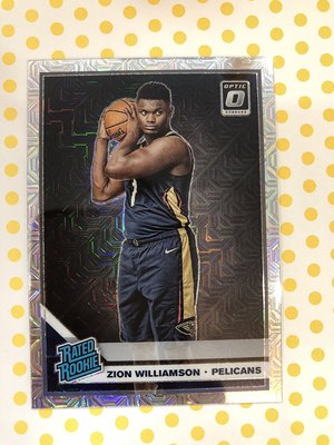 2019-20 NBA Panini Optic Choice Zion Williamson Mojo 新人卡 SSP