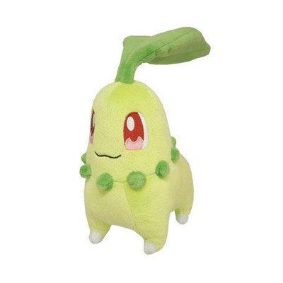 尼德斯Nydus~* 日本正版 神奇寶貝 精靈寶可夢 Pikachu 皮卡丘 絨毛玩偶 娃娃 菊草 約18cm