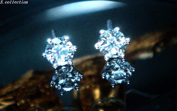 Scarlette Collection【名品館】周大福 鑽石耳環