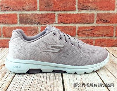 【琪琪的店】SKECHERS 女款 GO WALK 5 綁帶款 休閒鞋 健走鞋 運動鞋 漸層 紫粉15929MVE