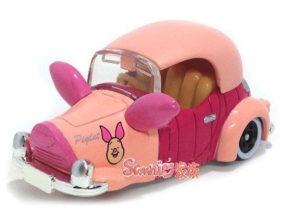 《東京家族》現貨日本TOMICA 東京迪士尼樂園限定 小熊維尼 維尼熊 夢幻 粉紅小豬 小汽車合金車