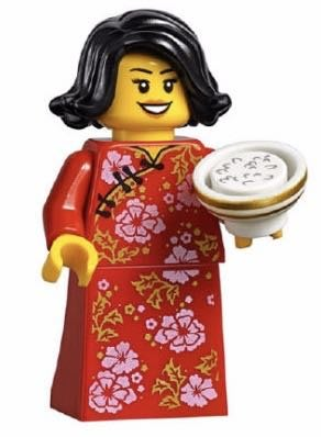 Lego 80101 Chinese New Year's Eve Dinner~ 中國服媽媽(剩人仔)