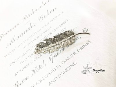 【海星 Starfish】(銀色)歐美風精緻落葉髮夾