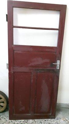 早期老門板( 裝置藝術)77x194公分