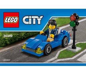~LEGOVA樂高娃~LEGO 樂高 CITY 城市 30349 Sports Car 前