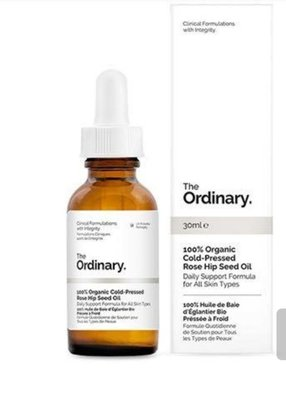 現貨 加拿大 Canada The Ordinary 100% 有機冷榨玫瑰  organic cold pressed rose seed oil 30ml