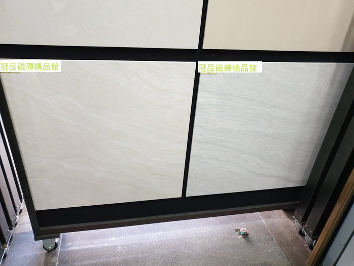 ◎冠品磁磚精品館◎進口精品 拋光石英磚-流砂紋米黃、流砂紋灰 – 60X60CM