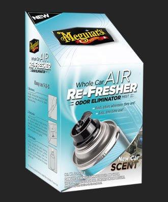 【易油網】Meguiar`s  whole car air Re-fresher自動去味芳香罐 G16402