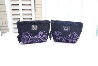 (QQ) 購自日本 日版Anna Sui 玫瑰花 喱士 化妝袋 雜物袋 化裝袋 包 Vivienne Franche