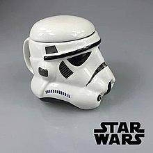 創意星球大戰黑武士白士兵Star Wars Rebels mug陶瓷水杯有柄有蓋水杯
