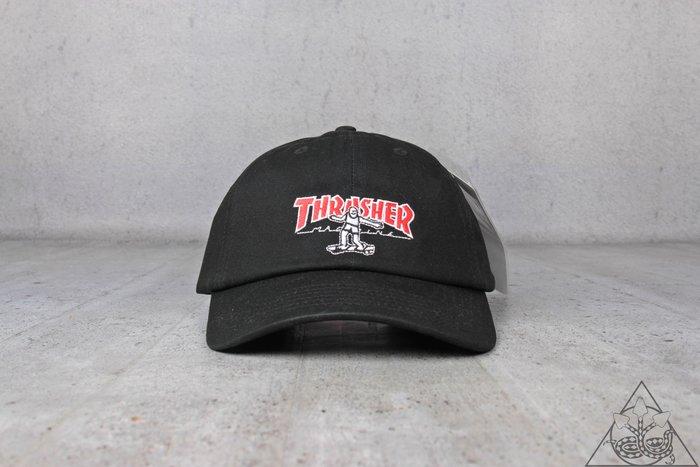 【HYDRA】Thrasher Hometown Gonz Strapback Dad Cap  老帽 刺繡【TS54】