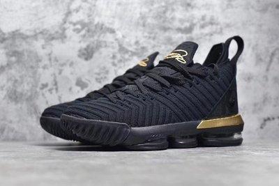 Nike LeBron 16 VI EP LBJ 黑金 BQ5970 007
