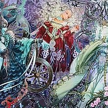 協泰 拼圖-現貨 EPOCH 11-424 女巫 睡美人 藝術系列 美女物語 NA2  1000片